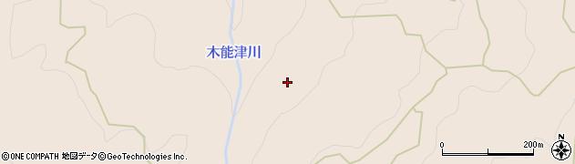 高知県長岡郡本山町木能津権代周辺の地図