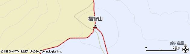 福智山周辺の地図