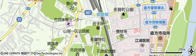 蛭子社周辺の地図