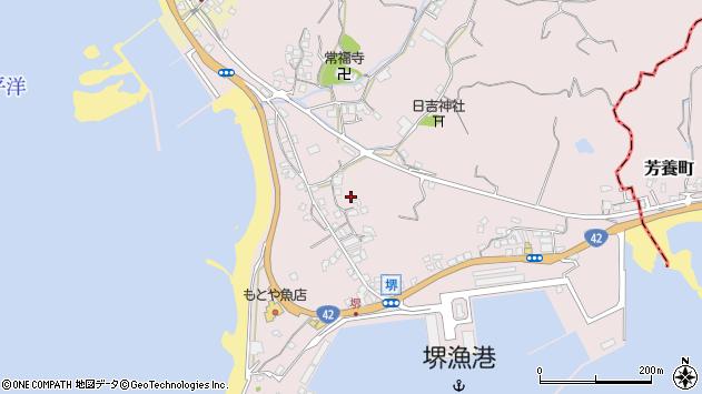 〒645-0003 和歌山県日高郡みなべ町堺の地図