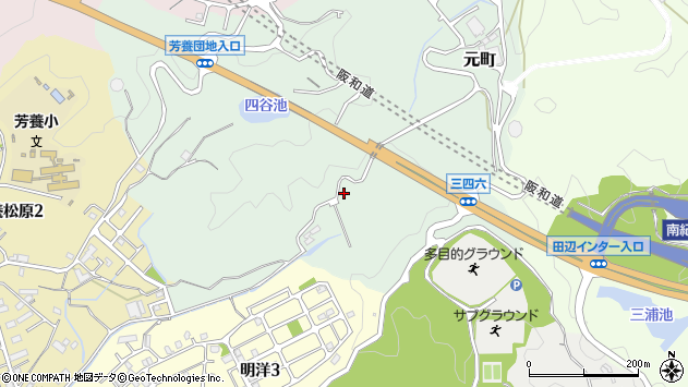 〒646-0053 和歌山県田辺市元町の地図