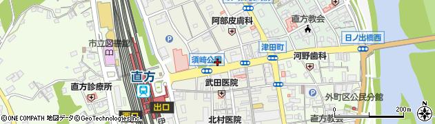 福岡県直方市須崎町18周辺の地図