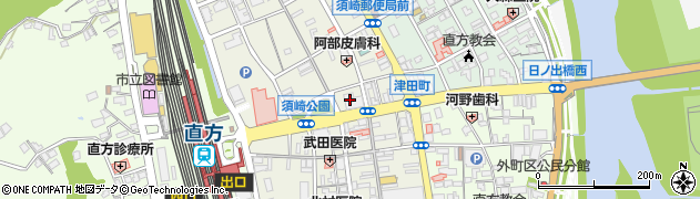 福岡県直方市須崎町17周辺の地図