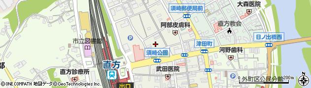 福岡県直方市須崎町2周辺の地図