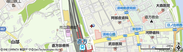 福岡県直方市須崎町3周辺の地図