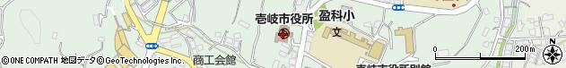 長崎県壱岐市周辺の地図