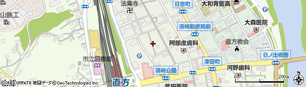 福岡県直方市須崎町4周辺の地図