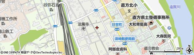 福岡県直方市須崎町周辺の地図