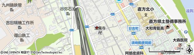 福岡県直方市須崎町7周辺の地図