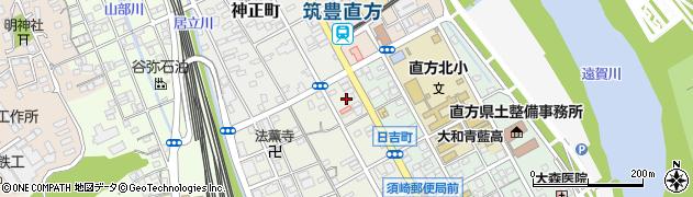 福岡県直方市須崎町9周辺の地図