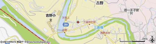 高知県長岡郡本山町吉野周辺の地図