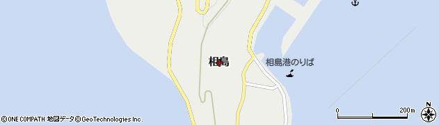 福岡県糟屋郡新宮町相島周辺の地図