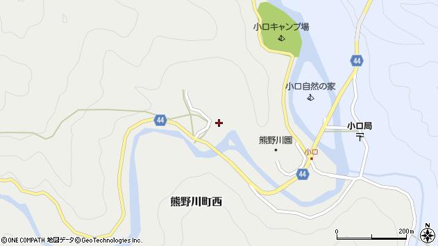 〒647-1206 和歌山県新宮市熊野川町西の地図