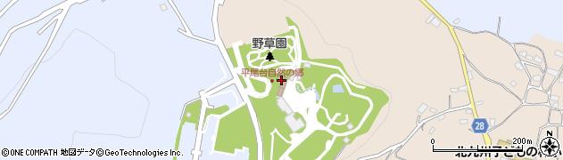 北九州市役所建設局 公園緑地部公園管理課平尾台自然の郷周辺の地図