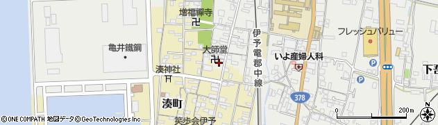 大師堂周辺の地図