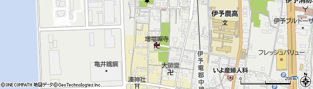 増福禅寺周辺の地図