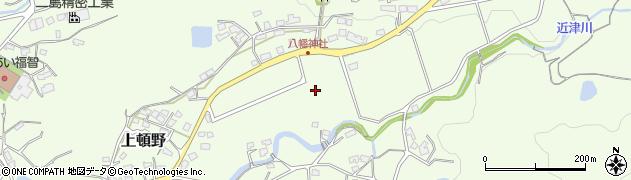 福岡県直方市上頓野周辺の地図