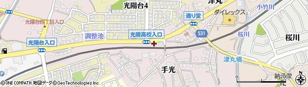 ホームワカスギ周辺の地図