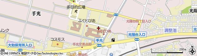 福岡県福津市手光南周辺の地図
