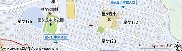 福岡県北九州市八幡西区星ケ丘周辺の地図