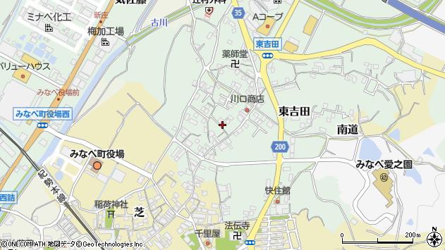 〒645-0001 和歌山県日高郡みなべ町東吉田の地図