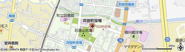 福岡県京都郡苅田町周辺の地図