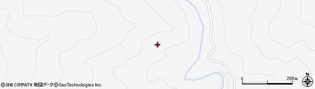 高知県長岡郡本山町北山北山東周辺の地図
