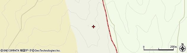 高知県長岡郡本山町上関乙周辺の地図