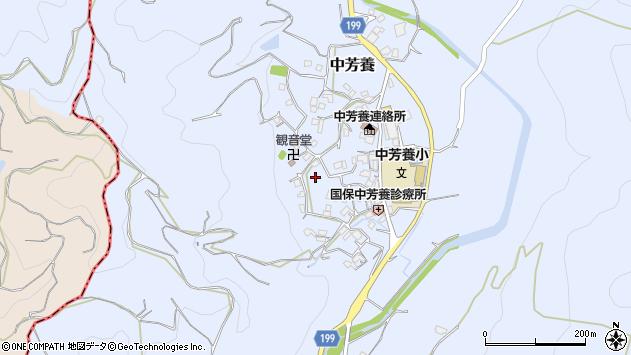 〒646-0057 和歌山県田辺市中芳養の地図