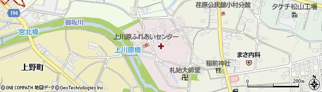愛媛県松山市上川原町周辺の地図