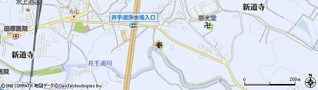 天疫神社周辺の地図