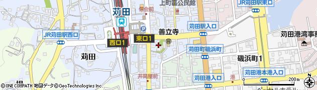 善立寺周辺の地図