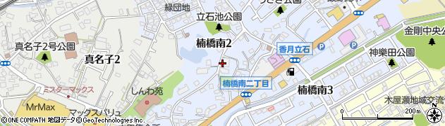 ケアプランセンターらくす周辺の地図