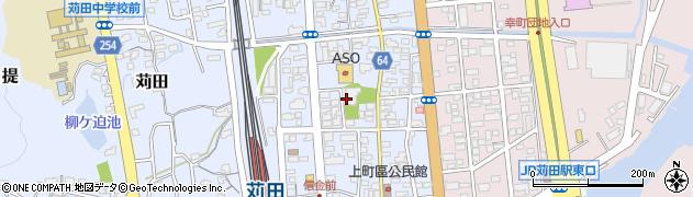 東伝寺周辺の地図