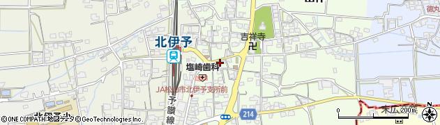 愛媛県伊予郡松前町出作周辺の地図