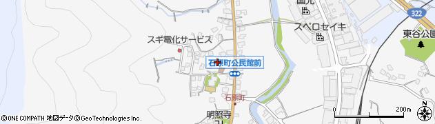 東大野八幡神社周辺の地図