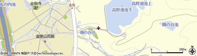 福岡県北九州市八幡西区金剛周辺の地図