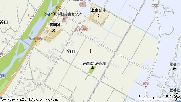 〒645-0026 和歌山県日高郡みなべ町谷口の地図