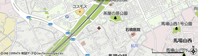 福岡県北九州市八幡西区馬場山緑周辺の地図