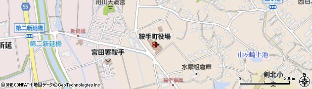 福岡県鞍手町(鞍手郡)周辺の地図
