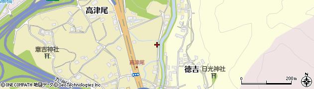 福岡県北九州市小倉南区高津尾周辺の地図