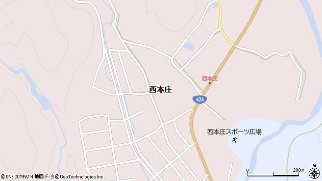 〒645-0027 和歌山県日高郡みなべ町西本庄の地図
