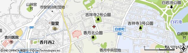 福岡県北九州市八幡西区吉祥寺町周辺の地図