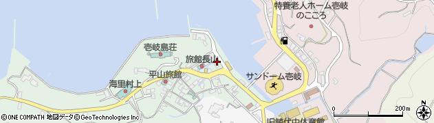 長崎県壱岐市勝本町湯本浦周辺の地図