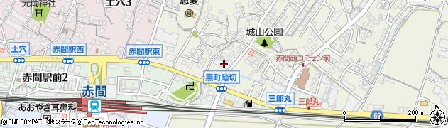 ロフティ赤間駅前2周辺の地図