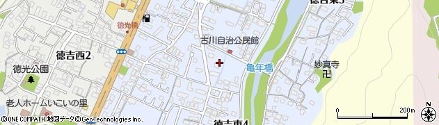 福岡県北九州市小倉南区徳吉東周辺の地図