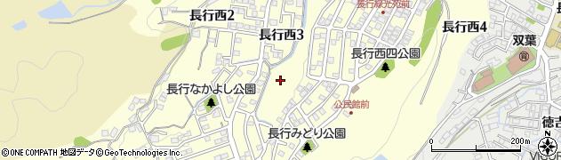 福岡県北九州市小倉南区長行西周辺の地図