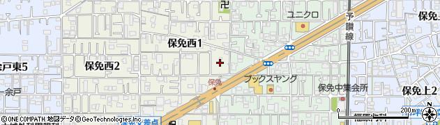 日招八幡大神社周辺の地図