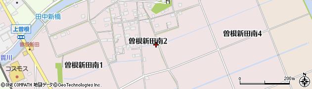 福岡県北九州市小倉南区曽根新田南周辺の地図
