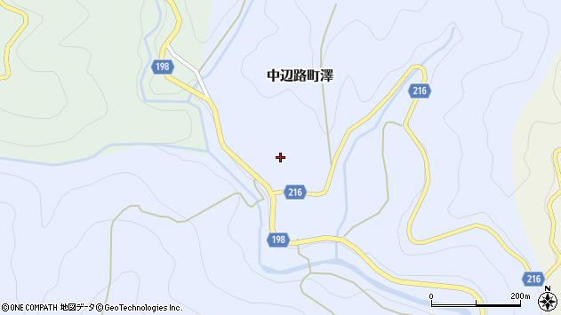 〒646-1437 和歌山県田辺市中辺路町沢の地図